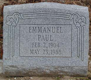 EMANUEL PAUL TOMB